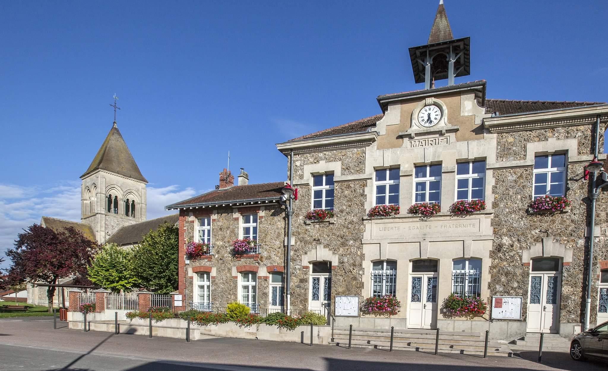 Façade mairie Beine-Nauroy